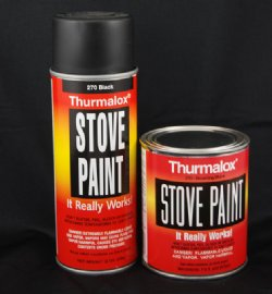 Pure White Stove Paint